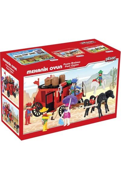 Pilsan Mini Mekanik Serisi: 2 Posta Arabası
