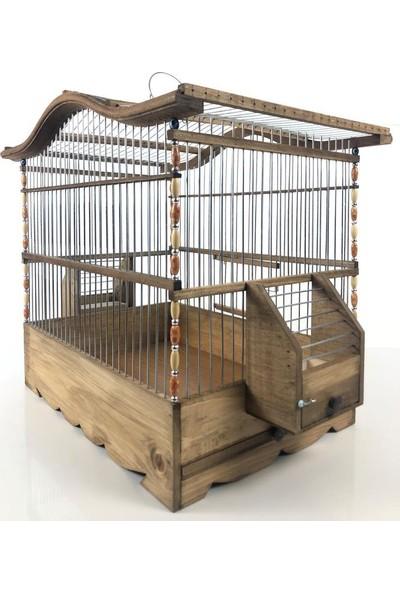 Naturbird Pergamon Ahşap Kafes