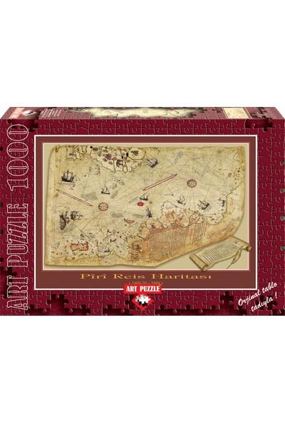 Art 4308/ART 1000 Parça Piri Reis Haritası Puzzle