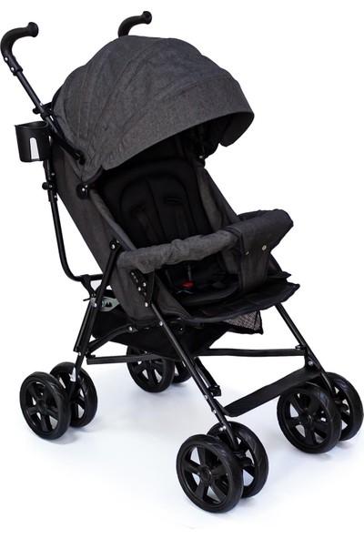 Duux Siena Baston Bebek Arabası Siyah