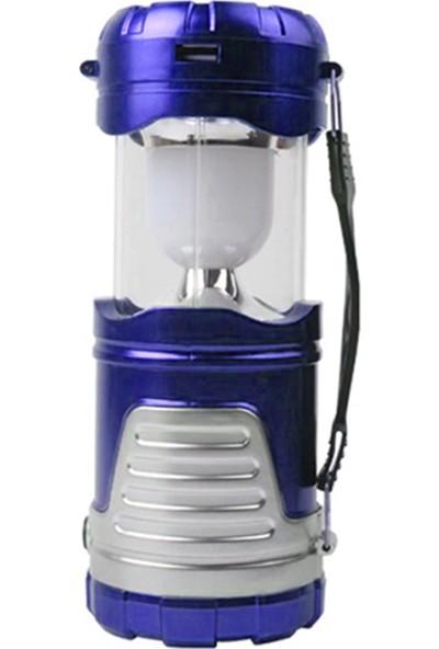 Zabata LED Işıldak Şarjlı El Feneri