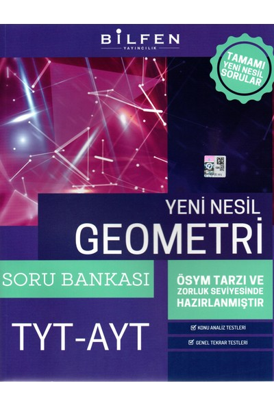 Bilfen Yayınları Tyt-Ayt Yeni Nesil Geometri Soru Bankası