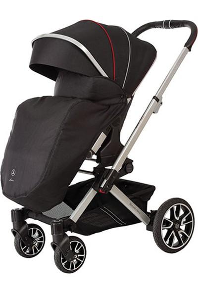 Mercedes-Benz Bebek Arabası Rüzgar Koruyucu - Siyah