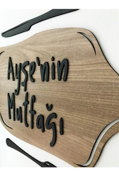 Doğa Kişiye Özel 3 Boyutlu Duvar Sticker Motto