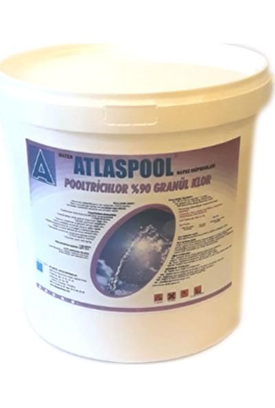 Atlaspool %90 Granül Havuz Suyu Kloru 10 kg