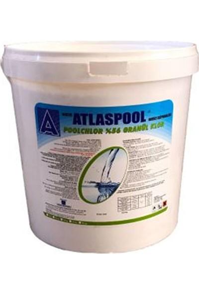 Atlaspool %56 Granül Havuz Suyu Kloru 10 kg