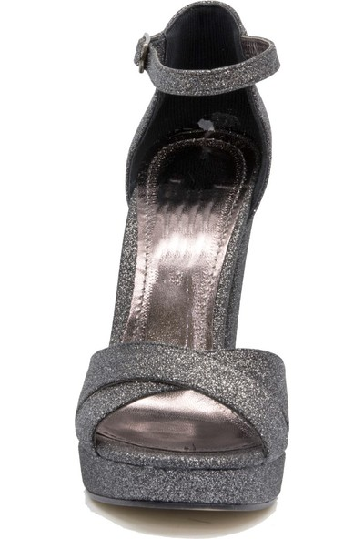 Gedikpaşalı Kadın Prk 24 Platin Abiye Ayakkabı
