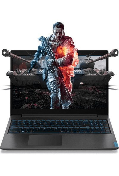 "Lenovo IdeaPad L340 Intel Core i7 9750H 16GB 512GB SSD GTX1050 Freedos 15.6"" FHD Taşınabilir Bilgisayar 81LK003LTXE1"