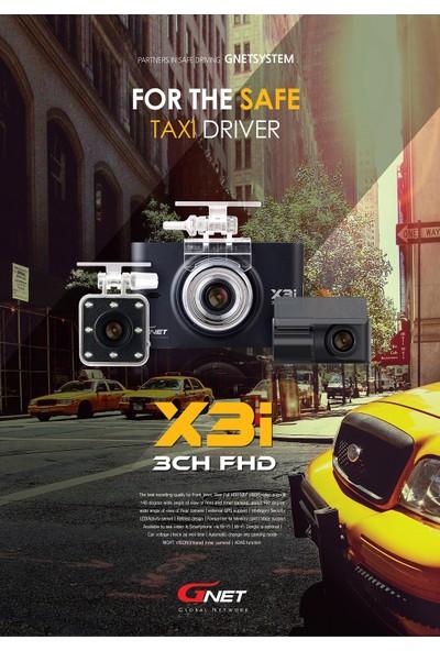 Gnet X3i 3 Kameralı Araç Kamerası