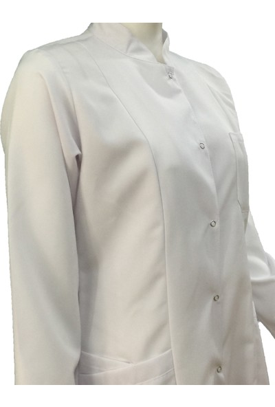 Palmiye Üniforma Tesettür Boy Uzun Boy Doktor Hemşire Laborant Öğretmen Önlüğü