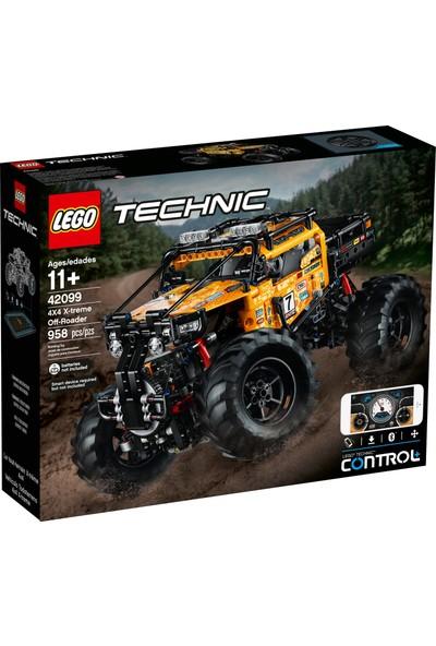 LEGO Technic 42099 RC X-treme Arazi Aracı