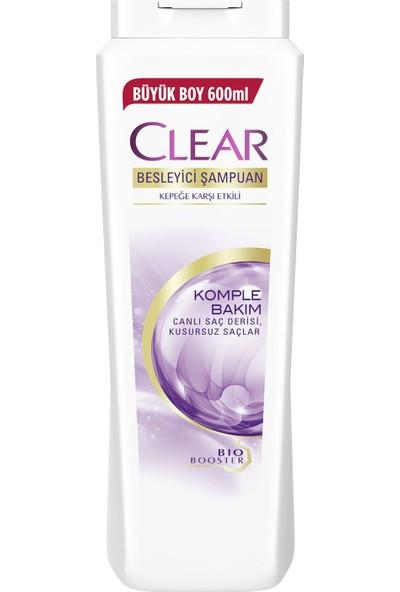 Clear Komple Bakım Şampuan 600 ML