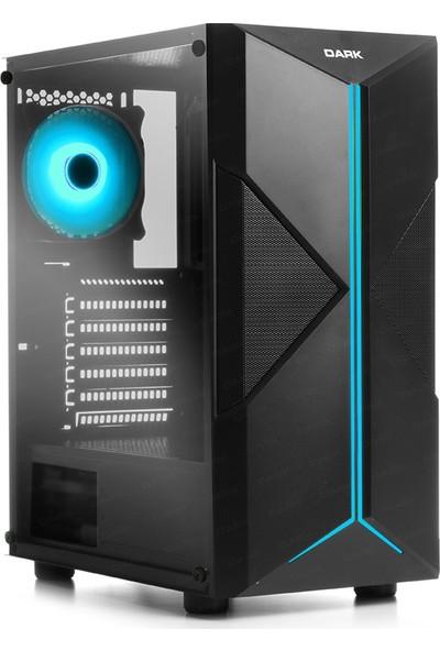 Dark X-Force 3x12cm Fan Adreslenebilir RGB USB 3.0 Bilgisayar Kasası (DKCHXForce)