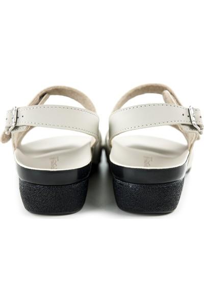 Ceyo Kadın Hac Umre Sandaleti Ceyo - Beyaz 36
