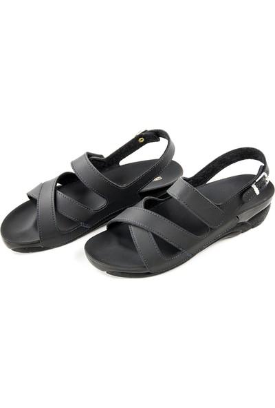 Ceyo Kadın Hac Umre Sandaleti Ceyo - Siyah 36