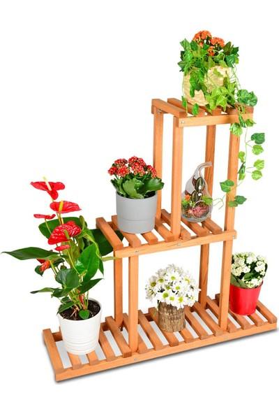 Hepsi Home Dekoratif Çiçek Saksı Standı