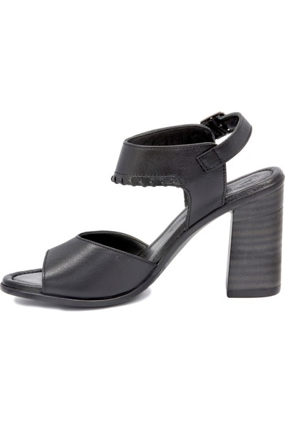 Mammamia Kadın D20Ys 1825 Siyah Sandalet