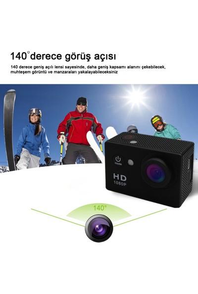 Sports 1080P Full Hd Su Geçirmez Aksiyon Kamerası