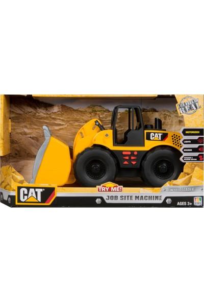 Toy State Cat Sesli Full Fonksiyonlu Kepçe Iş Makinası