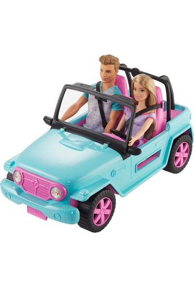 Barbie ve Ken Off-Road Araç Gezintisi