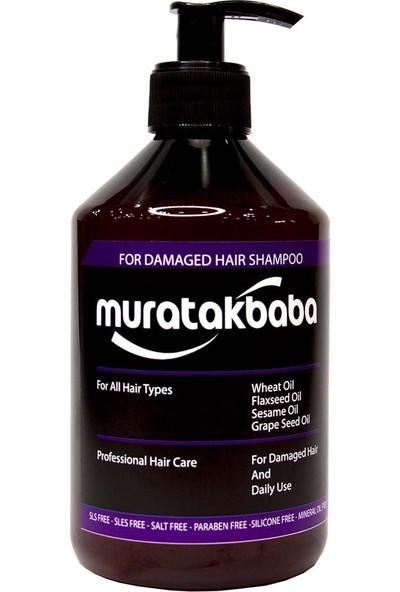 Murat Akbaba Zarar Görmüş Saçlar İçin Şampuan
