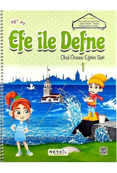 Efe ile Defne Okul Öncesi Eğitim Seti - ( + 4 Yaş )