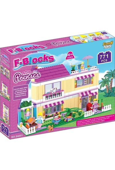 Furkan F-Blocks Prenses Seri 771 Parça