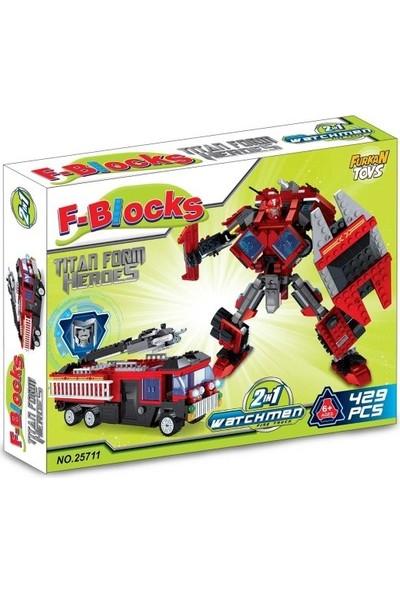 Furkan F-Blocks Heroes Seri 429 Parça