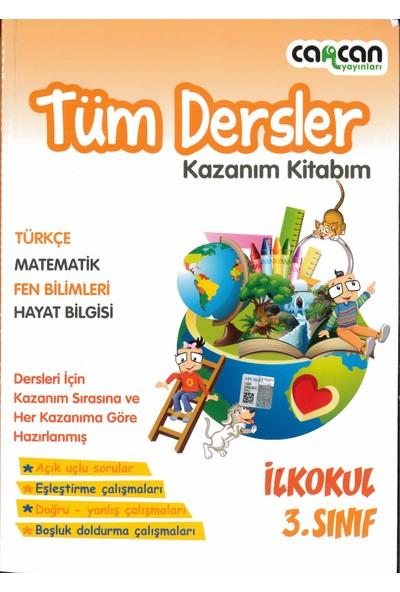 Cancan Yayınları 3.sınıf Tüm Dersler Kazanım Kitabım