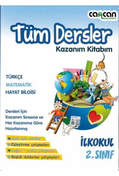 Cancan Yayınları 2.sınıf Tüm Dersler Kazanım Kitabım