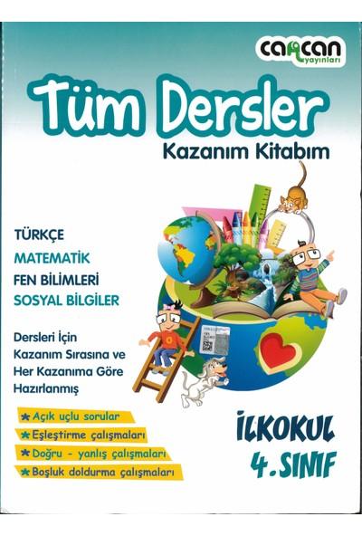 Cancan Yayınları 4.sınıf Tüm Dersler Kazanım Kitabım