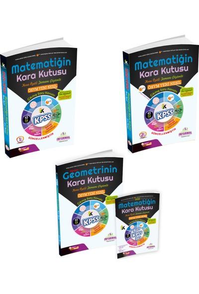 İnformal Yayınları Kpss 2020 Matematik-Geometrinin Kara Kutusu Tamamı Çözümlü Konu Özetli Soru Bankası Set Paket