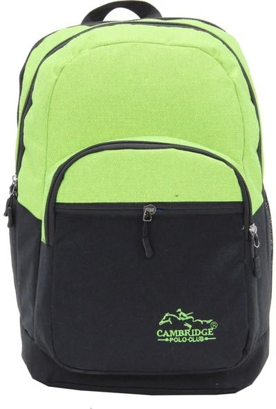 Cambridge Polo Club Sırt Çantası Plcan1758 Yeşil