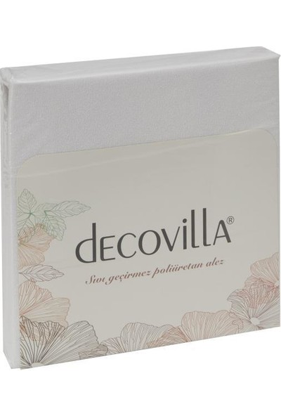 Decovilla 70 x 140 Köşe Lastik Bebek Alezi Sıvı Geçirmez