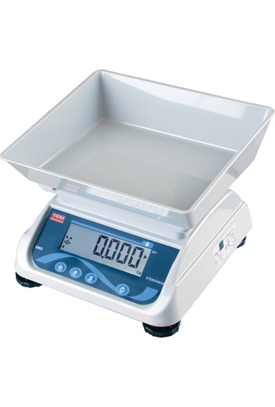 Tem Eko - LCD Çift Gösterge Tartım Terazisi 20 kg - 2 gr