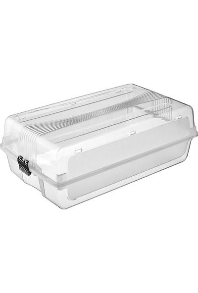 Elifplas Plastik S-Box Bayan Ayakkabı Kutusu 10'lu