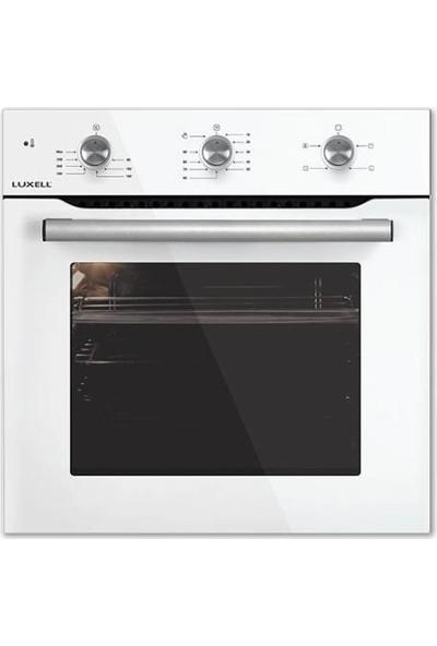 Luxell Ankastre Fırın A6SF2 (Mt) Plus 4 Programlı 3 Düğmeli Beyaz
