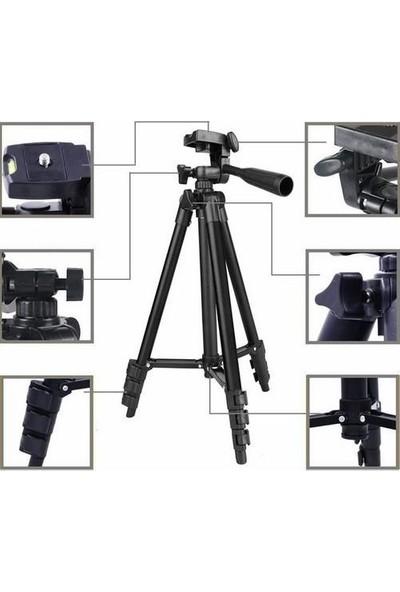 Nordmende 3120 Profesyonel Tripod 3120 102 cm TF-3120 Telefon Kamera