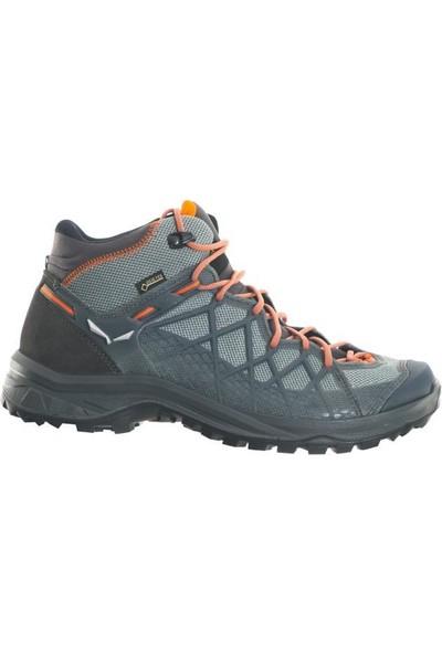 Salewa Wild Hiker Mid Gtx Erkek Trekking Ayakkabı Siyah - Gri