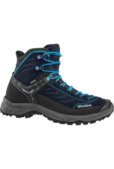 Salewa Hike Trainer Mid GTX Kadın Ayakkabı Lacivert - Mavi