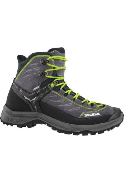 Salewa Hike Trainer Mid GTX Erkek Ayakkabı Gri - Yeşil