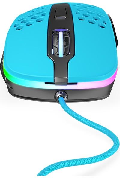 Xtrfy M4 RGB Ultra-Light Oyuncu Mouse Mavi