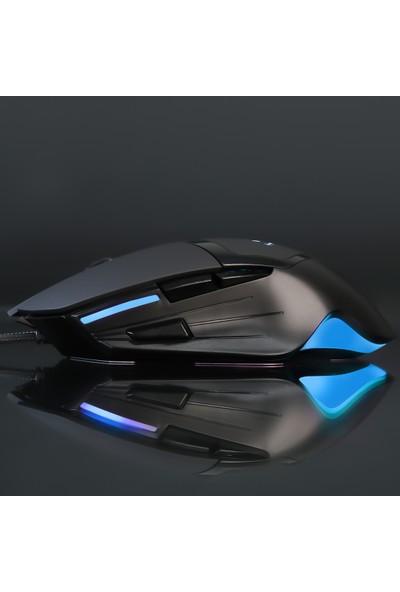 Rush Poıson RM82 10000 Dpı RGB 7d Oyuncu Mouse