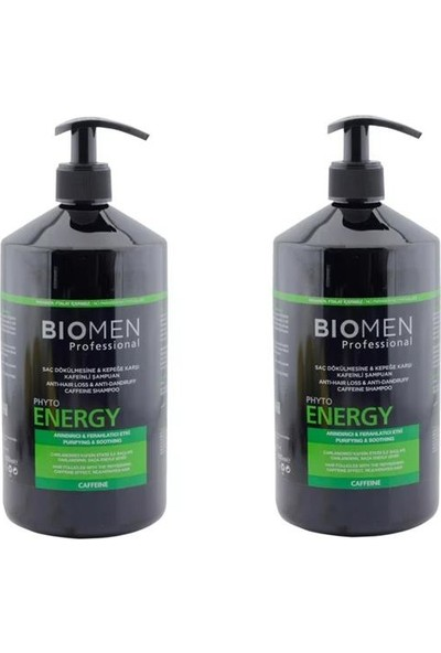 Bioblas Biomen Saç Dökülmesi ve Kepek Şampuanı 1000 ml x 2 Adet