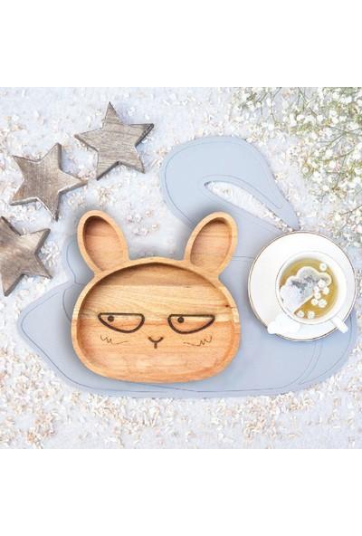 Fagus Wood Tavşan Figürlü Çocuk Sunum Tahtası
