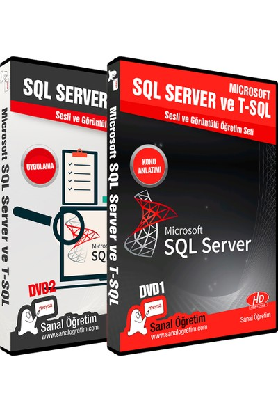Sanal Öğretim Microsoft Sql Server ve T-Sql Eğitim Seti Video Eğitim Seti