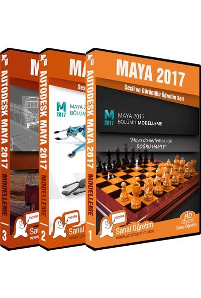 Sanal Öğretim Maya 2017 Modelleme Video Eğitim Seti