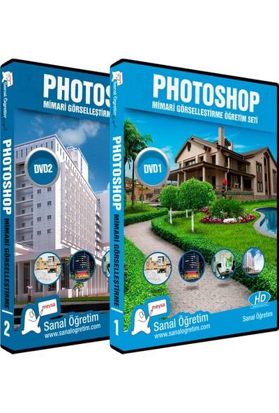 Sanal Öğretim Photoshop Mimari Görselleştirme Video Eğitim Seti