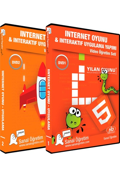 Sanal Öğretim Internet Oyunu ve Interaktif Uygulama Yapımı Video Eğitim Seti