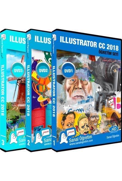 Sanal Öğretim Illustrator CC 2018 Video Eğitim Seti
